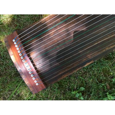 1093-松竹梅古筝-半筝100厘米16弦素面