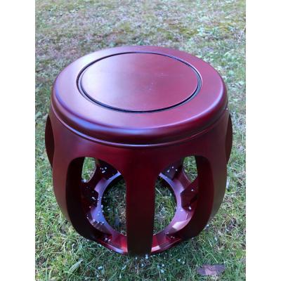1111-橡木琴凳(4.5公斤)-红木色-高44厘米